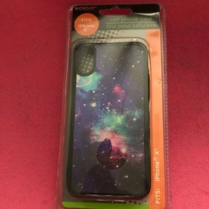 NWT 3D Galaxy iPhone Case